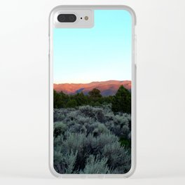Sangre de Cristo Clear iPhone Case