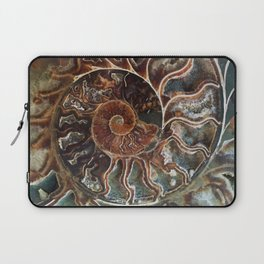Fossilized Shell Laptop Sleeve