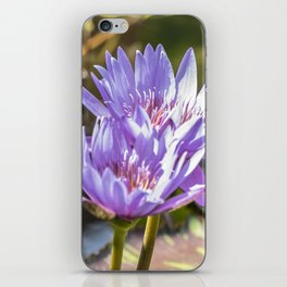 Lavender Lilies iPhone Skin