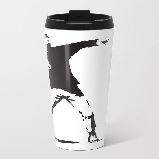 Angry Birdksy Metal Travel Mug