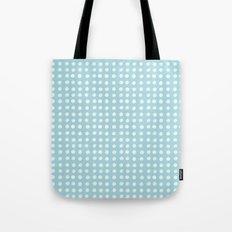 Blue Polka Pattern Tote Bag