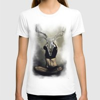 antlers T-shirts featuring antlers by Lazar Alex
