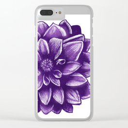 Flower V.6 Clear iPhone Case