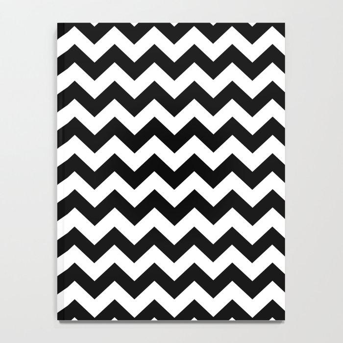 Chevron (Black/White) Notebook