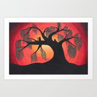 Darkness Illuminated Art Print