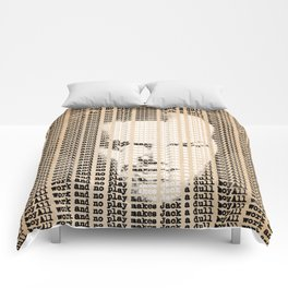 All work and no play makes Jack a dull boy Comforters