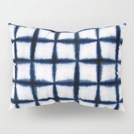 Shibori Squares Pillow Sham