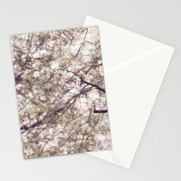 Palo Brea Blossoms on Tree in Lavender Dawn Stationery Cards