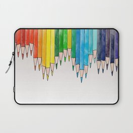 colored pencils Laptop Sleeve