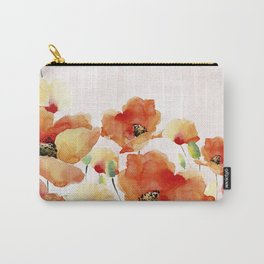 Beautiful Poppies #society6 Carry-All Pouch