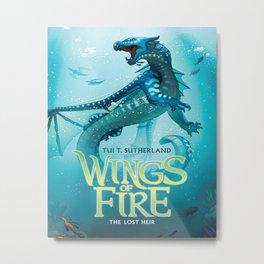 The Lost Heir - Wings of Fire Metal Print