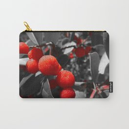 Red Beauty of Madrone Carry-All Pouch