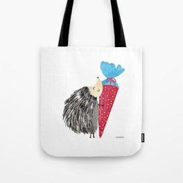 Porcupine Hedgehog Schultüte enrollment Gift Tote Bag