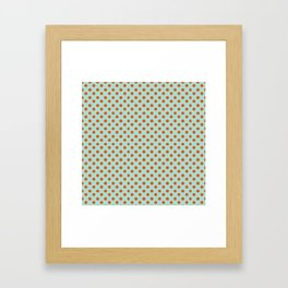 Polka Dot Frenzy Framed Art Print