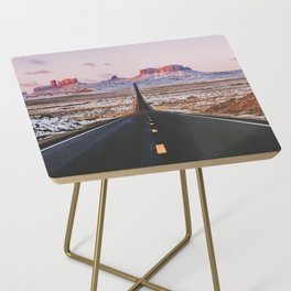 Monument Valley Sunrise Side Table
