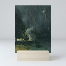 Nocturne in Black and Gold by Whistler, 185 Mini Art Print