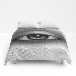 Halftone Eye Comforters