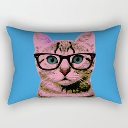 Warhol Cat 1 Rectangular Pillow