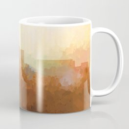 Durham, North Carolina Skyline - In the Clouds Coffee Mug
