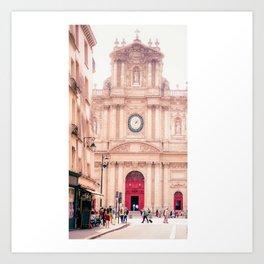Saint-Paul Saint-Louis Church - Le Marais, Paris Art Print