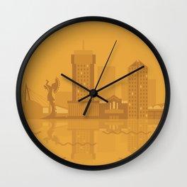 I Love Wichita Wall Clock