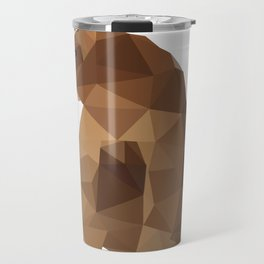 Brown Bear. Travel Mug