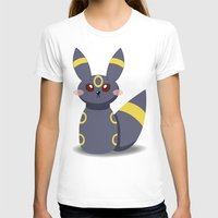 umbreon T-shirts featuring Evolution Bobbles - Umbreon by creativeesc