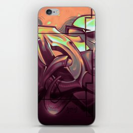 Wildstyle Close-Up - 17 Lublin iPhone Skin