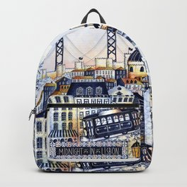 Midnight in Lisbon Backpack