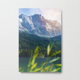 Grass Mountain View (Color) Metal Print