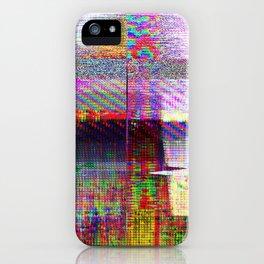 GLITCH4 -Cats in disguise iPhone Case