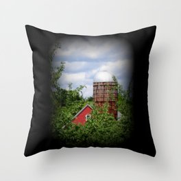Farm Life Throw Pillow