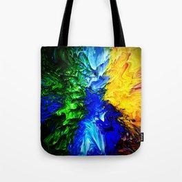 """""""Gas Flame"""" Digital Print Tote Bag"""