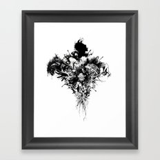 Devil May Care Framed Art Print