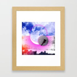 mile high sky no. 14 Framed Art Print