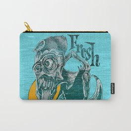 Fresh Blue Ice Cream Carry-All Pouch