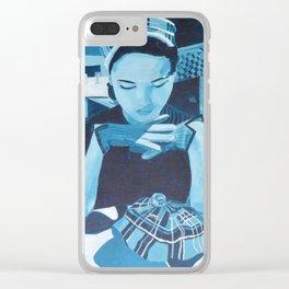 Retro 21 Clear iPhone Case