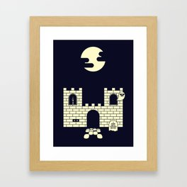 GHOST CASTLE Framed Art Print