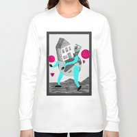 globe Long Sleeve T-shirts featuring GLOBE by Vértice Design Studio