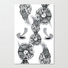 Fungi Abstraction Canvas Print