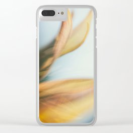 Fading like a Flower Clear iPhone Case