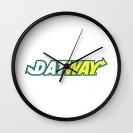 "Migoss ""DATE WAY"" Shirt Wall Clock"