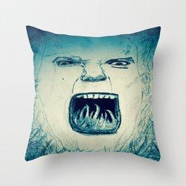 Rally Cry. Throw Pillow