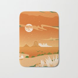 Monument Moon Bath Mat
