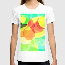 aqua Sketch T-shirt