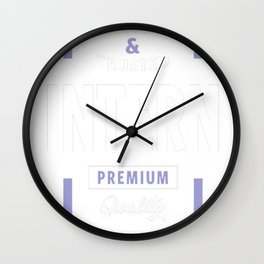 Intern-Logo-Tees Wall Clock