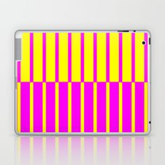 Canary Zebra Plays Piano Laptop & iPad Skin