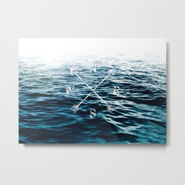 Winds of the Sea Metal Print