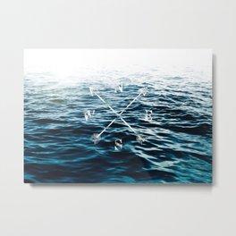 Winds of the Sea Metal Print