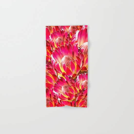 PinkFlower9 Hand & Bath Towel